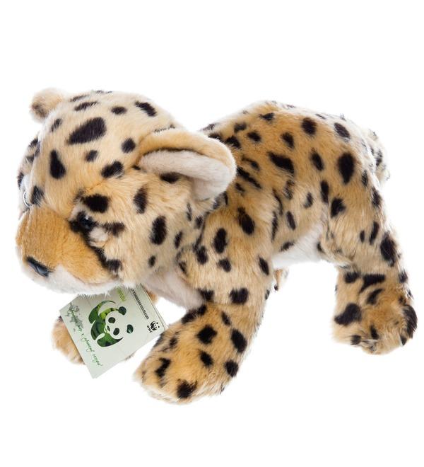 Мягкая игрушка Леопард WWF (25 см) – фото № 4
