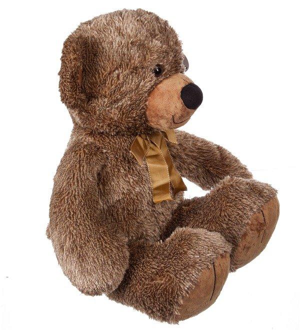 Мягкая игрушка Мишка Потапыч с бантом (70 см) – фото № 3