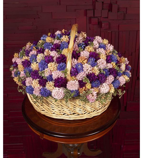 Композиция Разноцветные гиацинты (101,201 или 301) – фото № 1