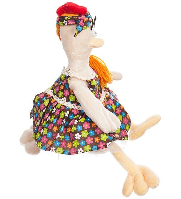Мягкая игрушка Курочка в Сарафане (28 см) – фото № 2