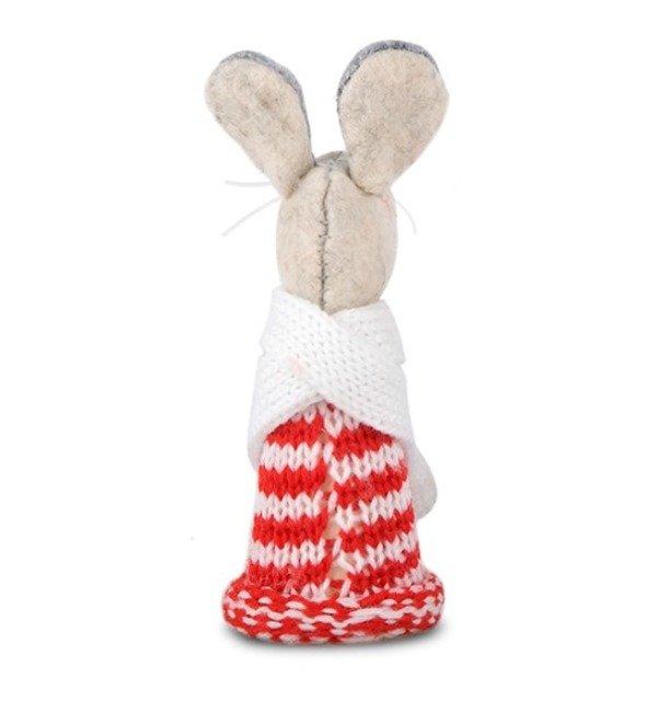 Фигурка Мышь в свитере – фото № 2