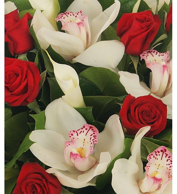 Букет Москва, розы, мечты... – фото № 5