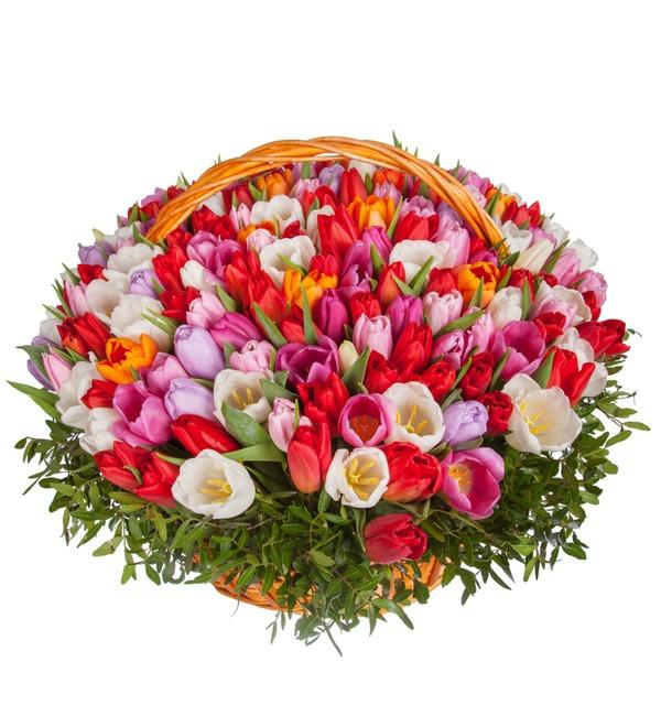 Композиция из тюльпанов Драгоценная моя... (51, 101 или 201) – фото № 5