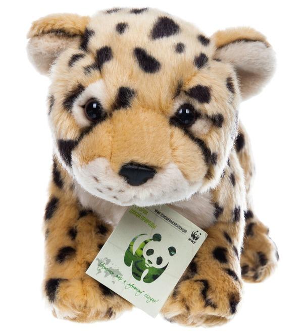 Мягкая игрушка Леопард WWF (25 см) – фото № 1