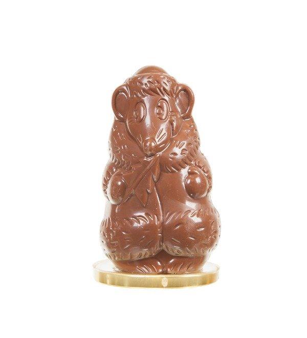 Шоколадная фигура Крыска в шубе – фото № 1