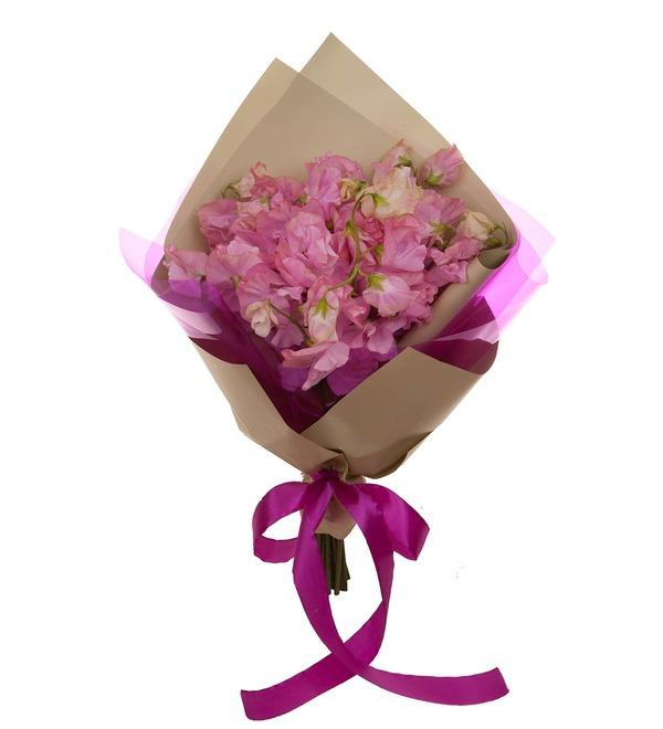 Букет-соло розовых латирусов (15,25,35 или 51) – фото № 5