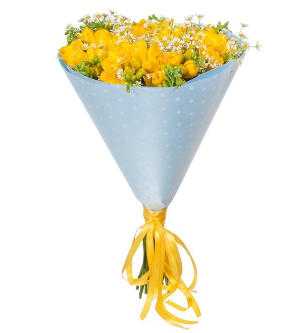 Букет Полевые цветы – фото № 4