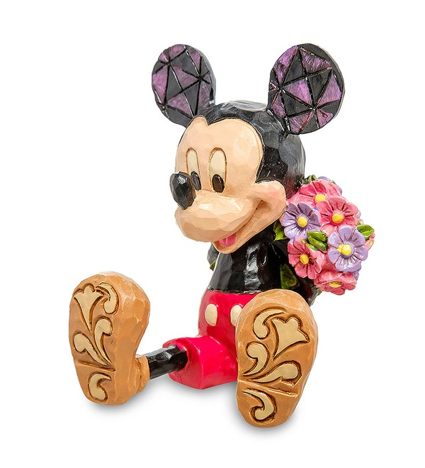 Figurine Mini Mickey Mouse with flowers (Disney) – photo #2