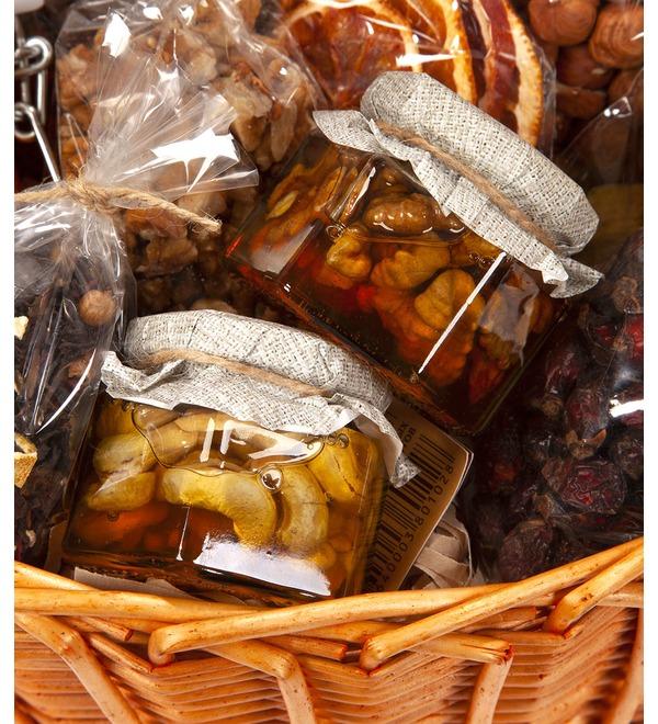Подарочная корзина Медовые орехи – фото № 3