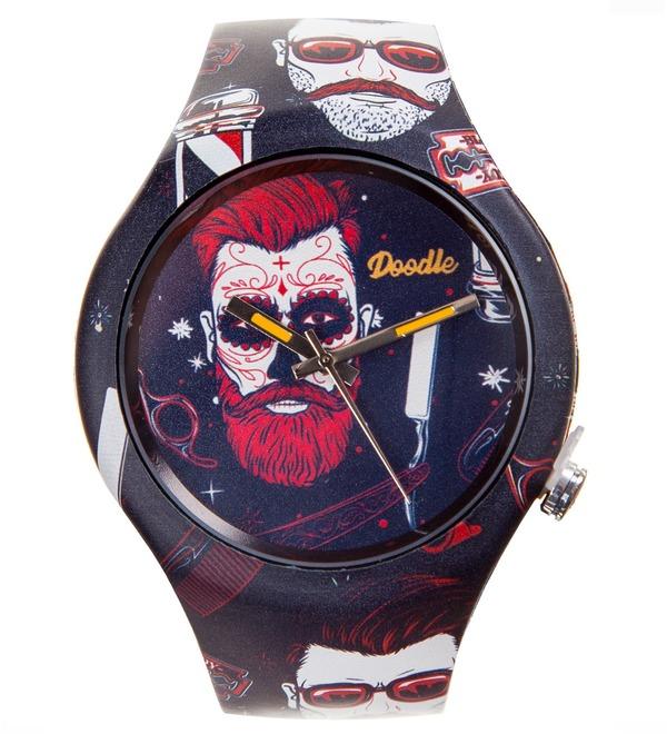 Часы Doodle Хипстер – фото № 1