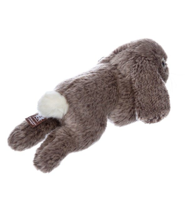 Мягкая игрушка Серый кролик (25 см) – фото № 2