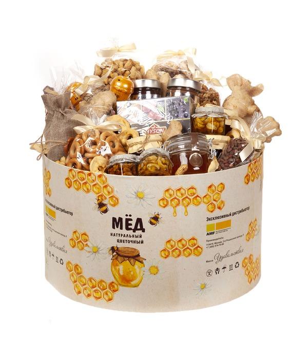Подарочная коробка Бочонок с медом – фото № 5