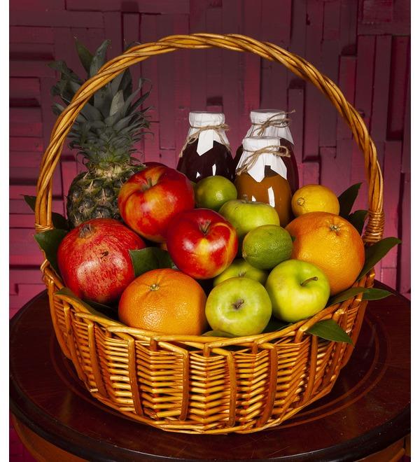 Подарочная корзина Нужные витамины – фото № 1