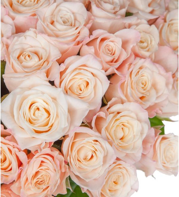 Букет-соло роз Medeo (25,35,51,75 или 101) – фото № 2