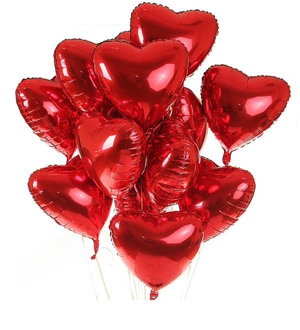 Bouquet of balloons Eternal Love (11 or 21 balloons) – preview #1
