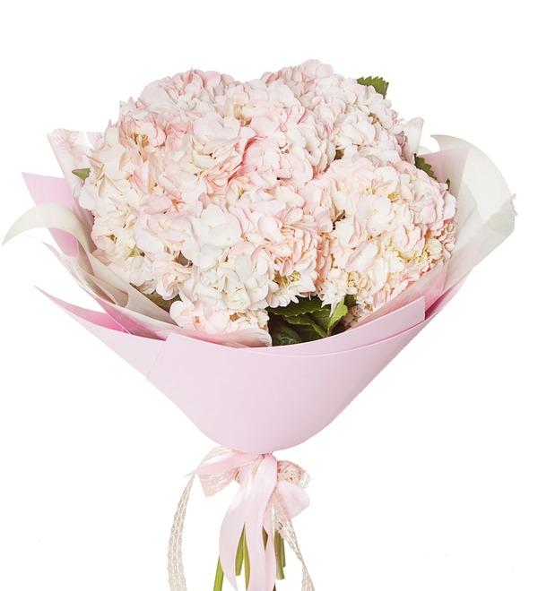 Букет розовых гортензий (5, 7 или 9) – фото № 5