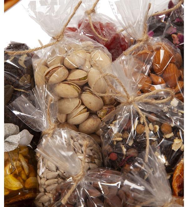Подарочная корзина Медовые орехи – фото № 2