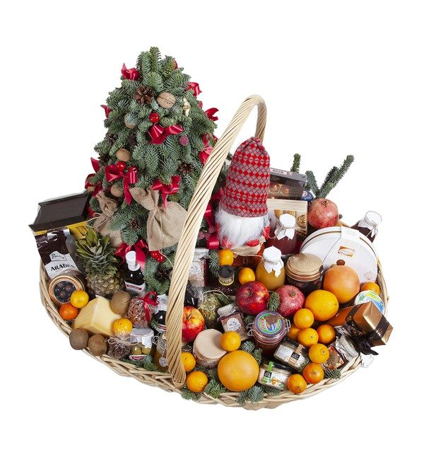 Подарочная корзина Новогодний пир – фото № 3