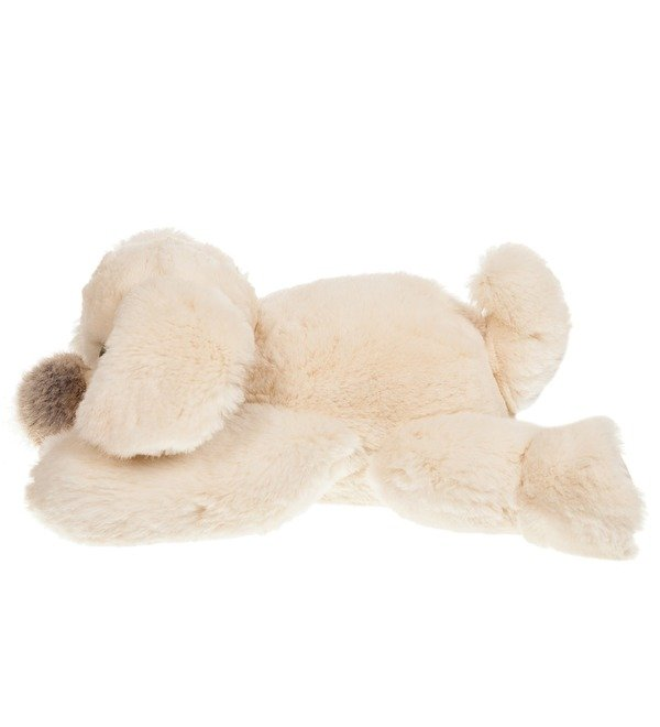 Toy from natural rabbit fur Dog (25 cm) – photo #2
