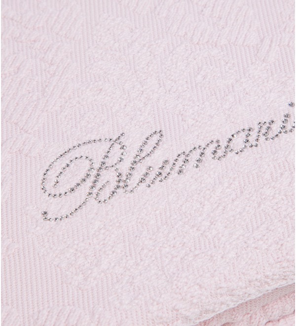 Bedspread with embossed Blumarine – photo #2