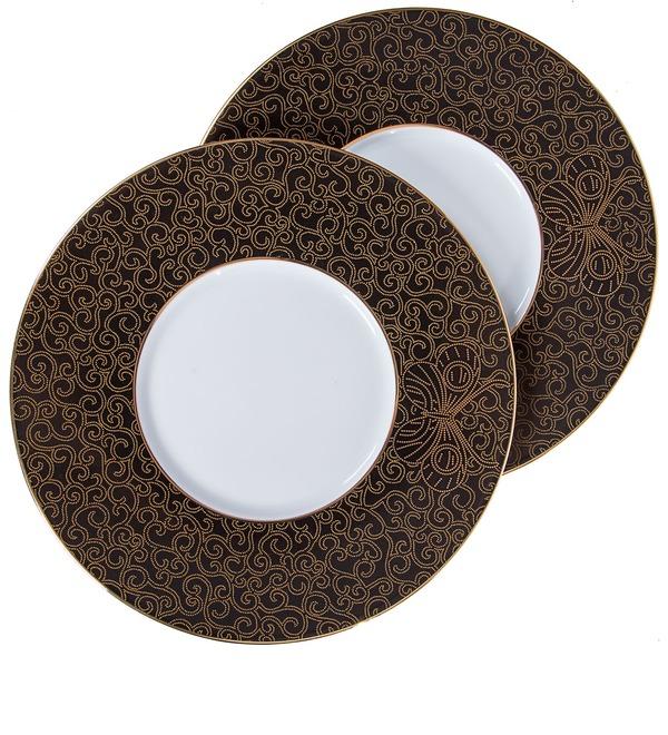Gift set of 2 plates Haviland – photo #1