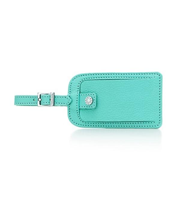 Keychain for luggage Luggage Tag Tiffany – photo #1
