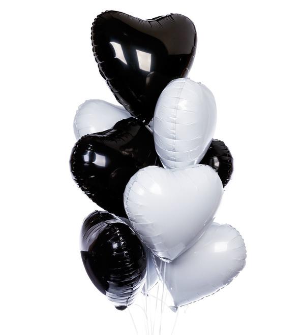 Букет шаров Стиль (9 или 21 шар) – фото № 1