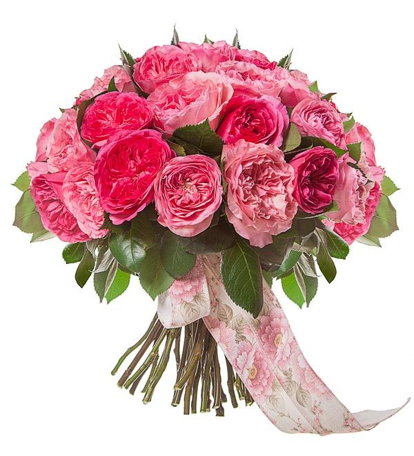 Bouquet of peony roses Splendor (15, 25 or 51) – photo #4
