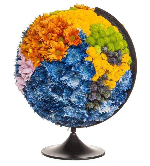 Композиция Глобус – фото № 1