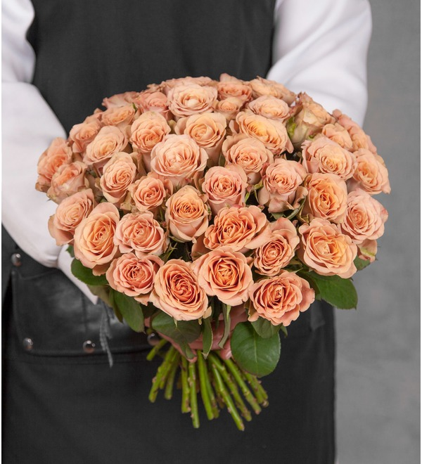 Bouquet of roses Cappuccino (25, 51 или 101) – photo #1