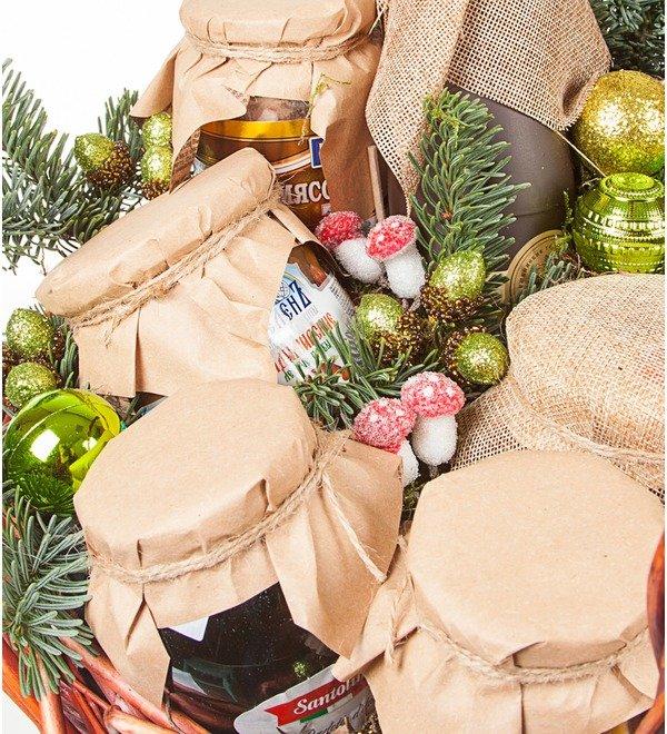 Подарочная корзина Зимние запасы – фото № 3