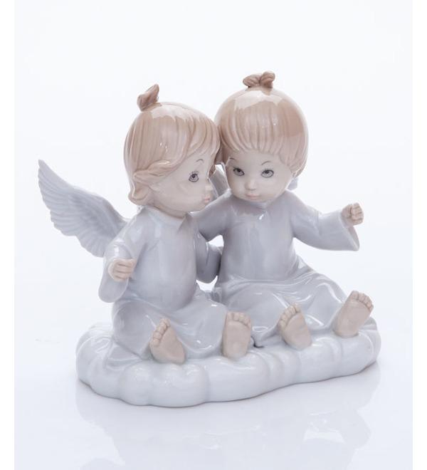 Статуэтка Ангелочки на облаке. Pavone, Италия – фото № 2