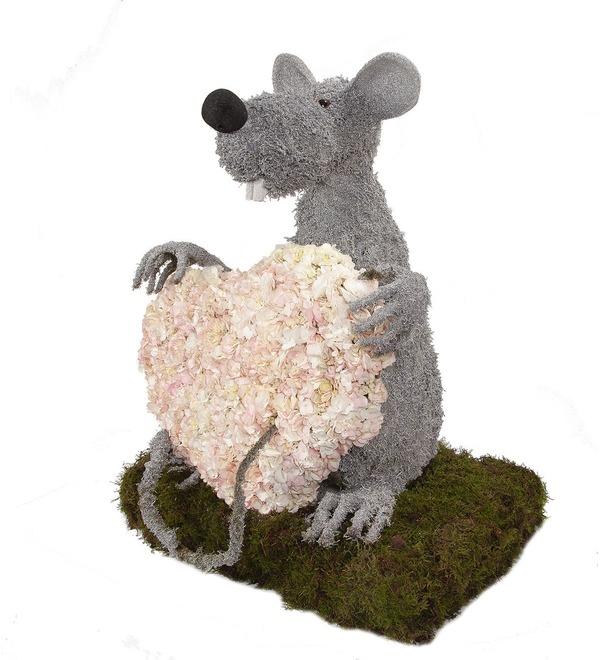 Композиция Любящий мышонок – фото № 4