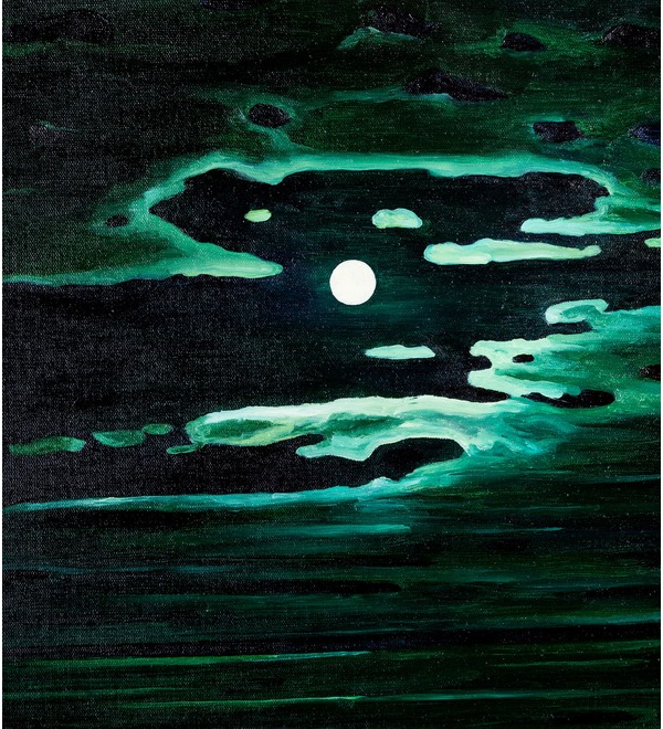 Картина А.Куинджи Лунная ночь на Днепре (115х90см) – фото № 3