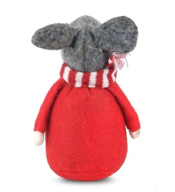 Фигурка Мышь в шарфике – фото № 2