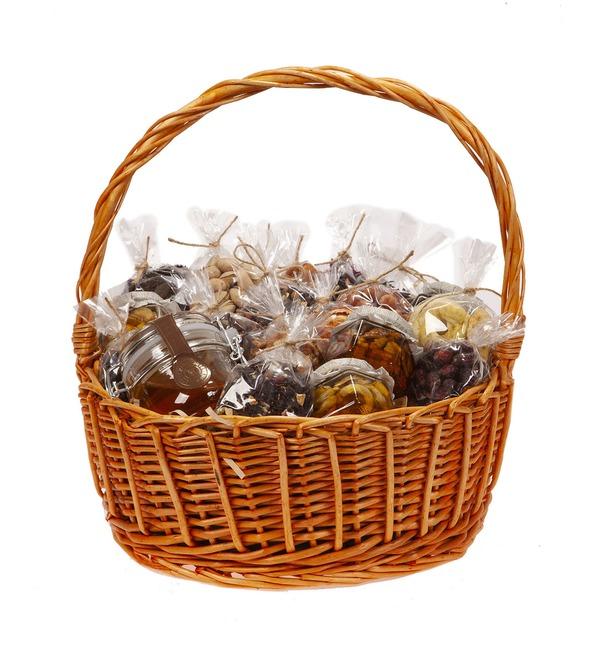 Подарочная корзина Медовые орехи – фото № 4
