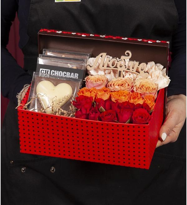 Подарочная коробка Симфония любви – фото № 1
