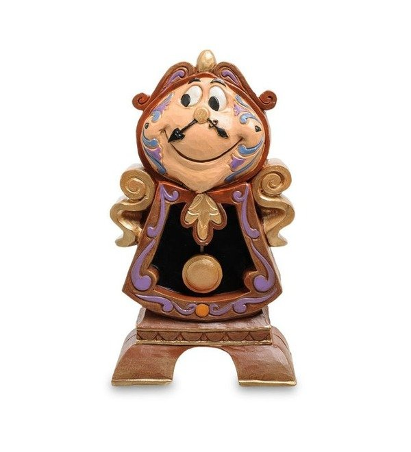 Figurine Cogsworth Always on the lookout (Disney) – photo #1