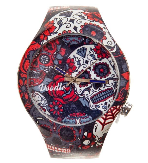 Doodle watch Gray Skull – photo #1