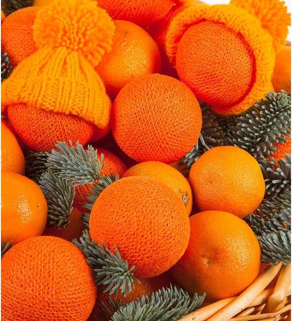 Подарочная корзина Оранжевое чудо – фото № 3