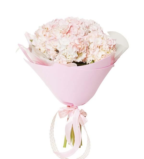 Букет розовых гортензий (5, 7 или 9) – фото № 4
