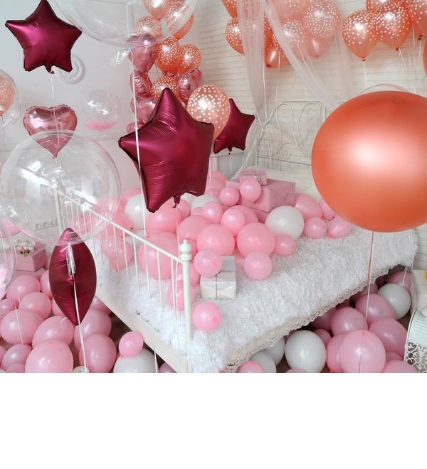 Оформление шарами в стиле Романтика! – фото № 3