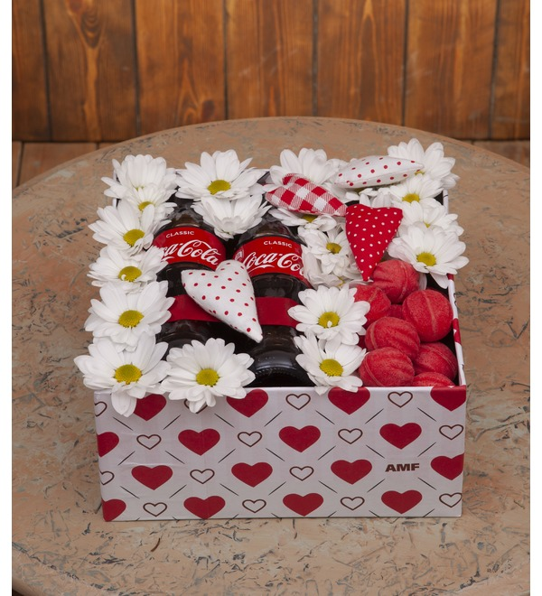 Подарочная коробка Гадание на ромашке – фото № 1
