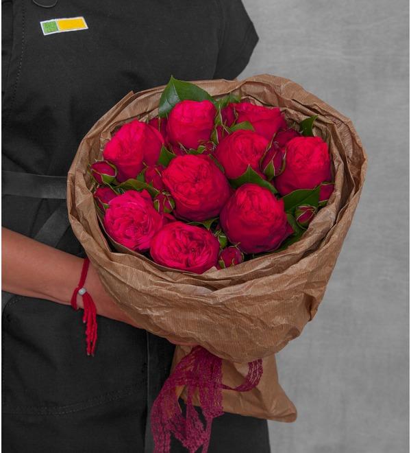 Букет из пионовидных роз Обворожительный – фото № 1