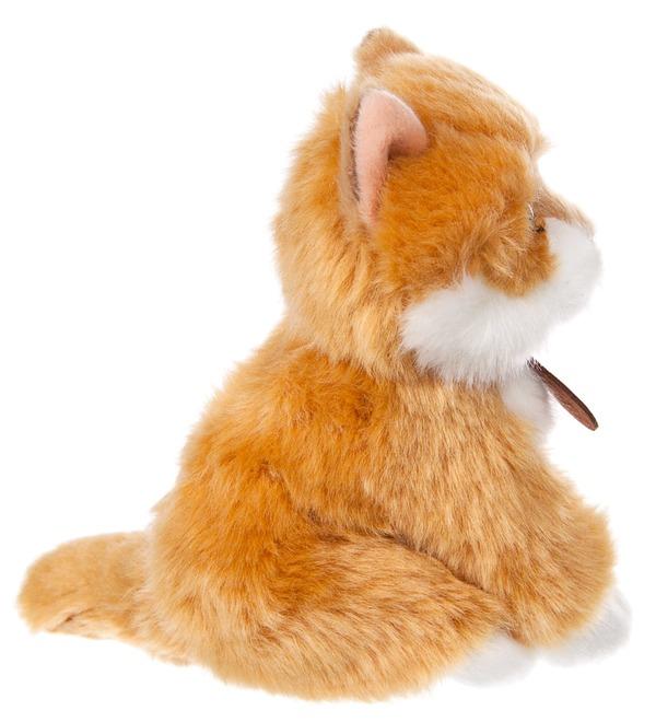 Мягкая игрушка Сибирский рыжий котёнок (15 см) – фото № 2