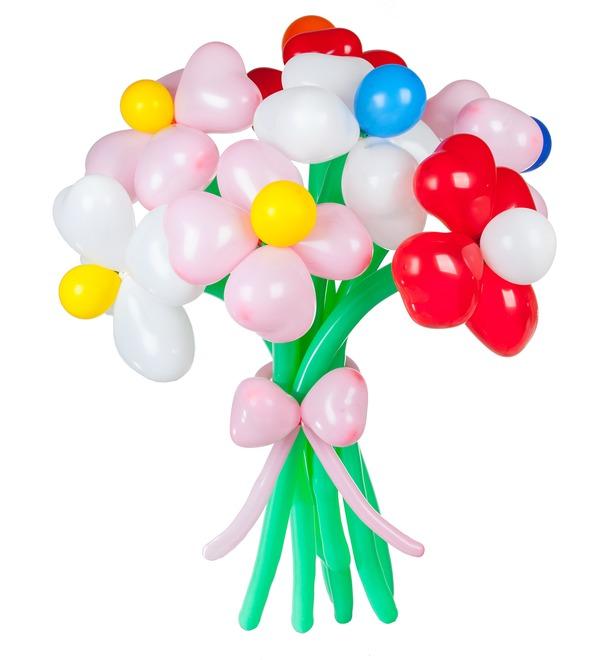 Composition of balls Bouquet – photo #1