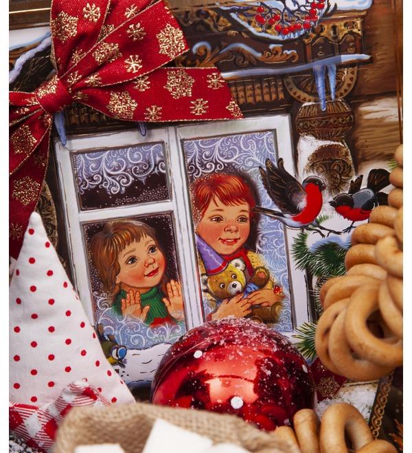Подарочная корзина Конфетки-бараночки – фото № 2