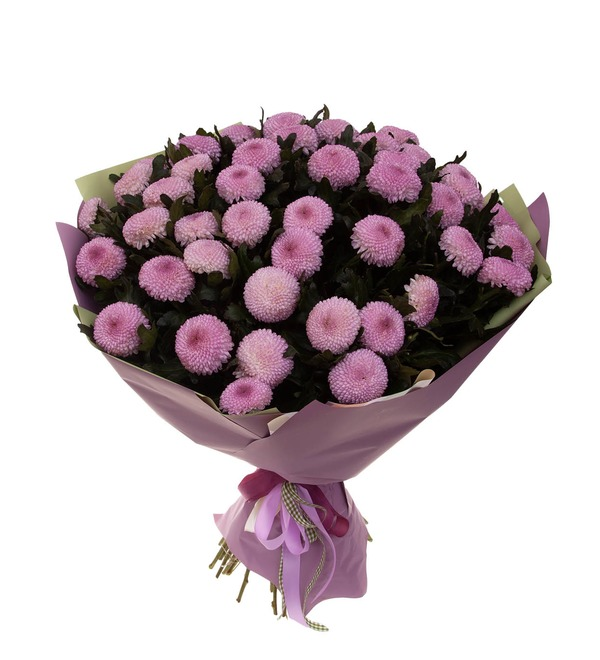 Bouquet-solo chrysanthemums Momoko (7,15,21,35 or 51) – photo #4