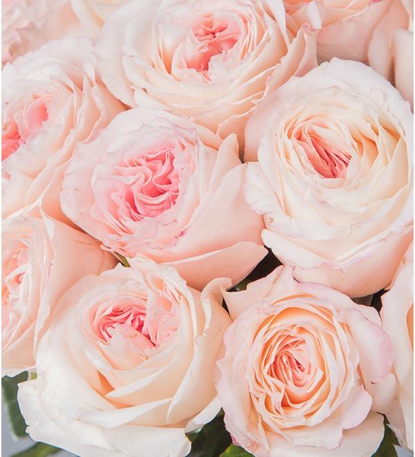 Букет-соло пионовидных роз Mayras Bridal (15,25,35,51,75 или 101) – фото № 2