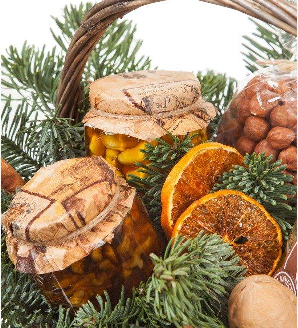 Подарочная корзина Медовые орешки – фото № 2